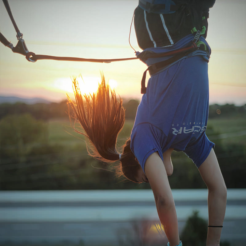 Sunset handstand